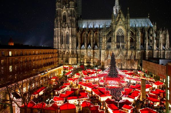 Рождественские ярмарки в Европе –Рождественская ярмарка в Кельне, Германия