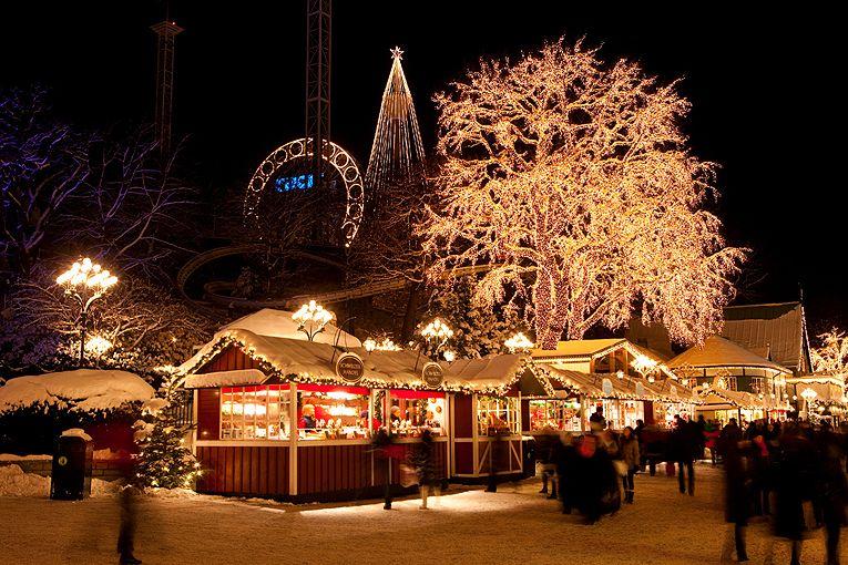 Рождественские ярмарки в Европе –Рождественская ярмарка в Гетеборге, Швеция