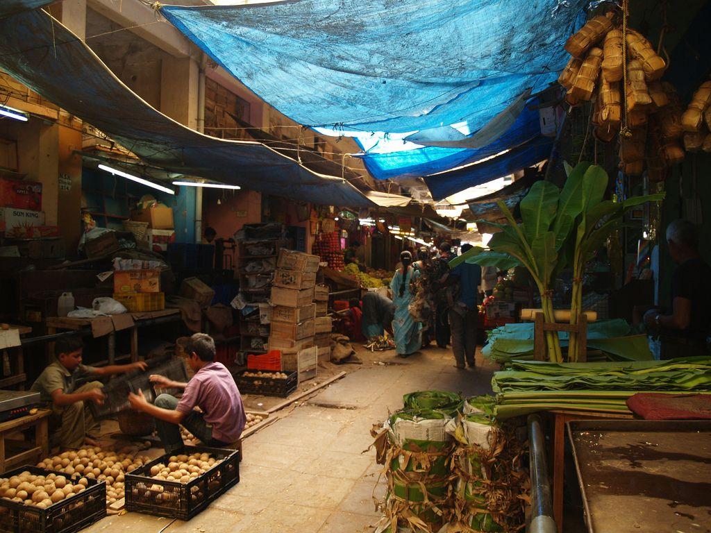Рынок Деварая, Индия