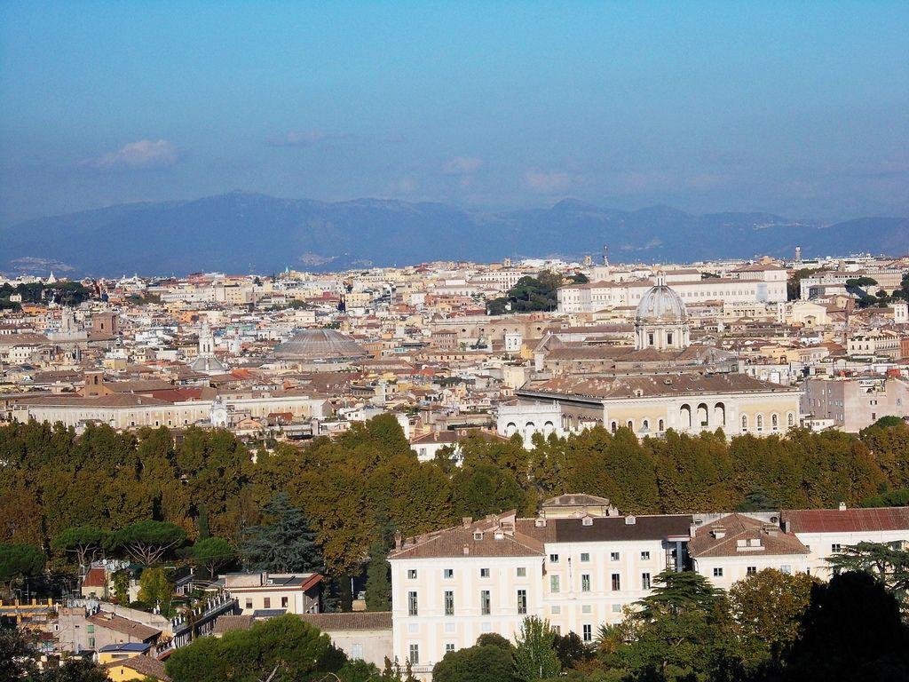 Парк Яникул в Риме