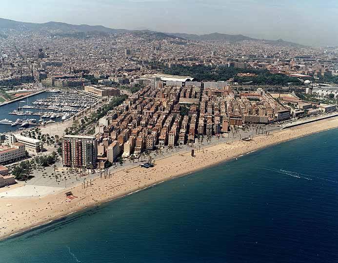 Барселона, достопримечательности  –Городской пляж