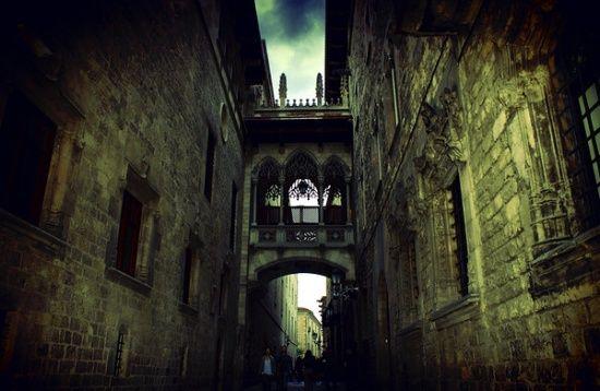 Барселона, достопримечательности –Готический квартал