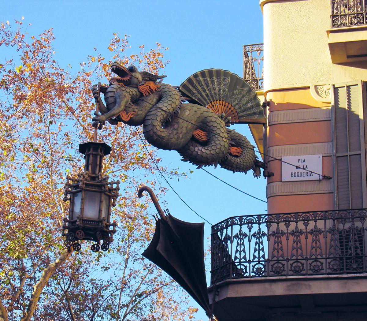 Барселона, достопримечательности – площадь Reial