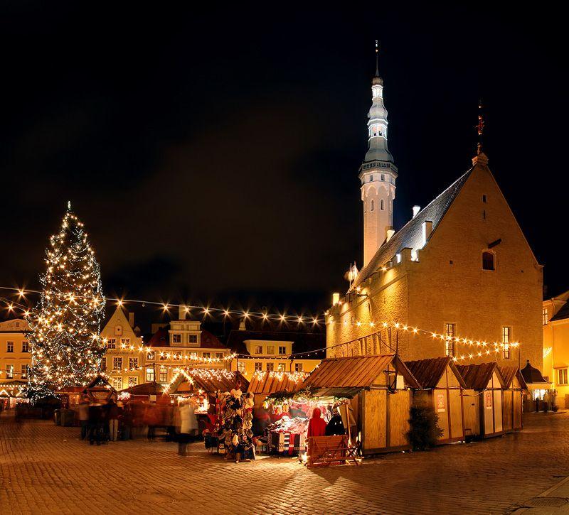 Рождественские ярмарки в Европе –Рождественская ярмарка в Таллинне, Эстония