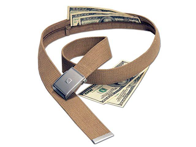 Секретный пояс для денег