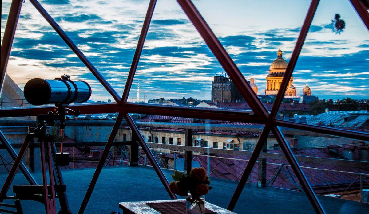 Питер с высоты птичьего полета: топ-5 лучших мест на крышах