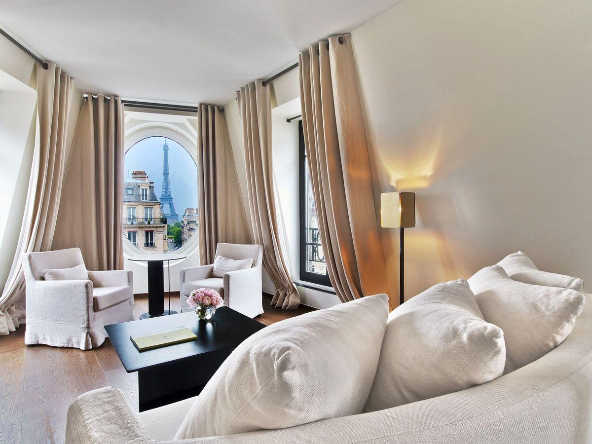Отели с видом на Эйфелеву башню: 10 гостиниц для романтиков