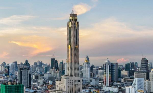 Байок Скай в Бангкоке отель смотровая площадка ресторан