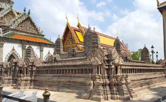 Королевский дворец в Бангкоке на карте