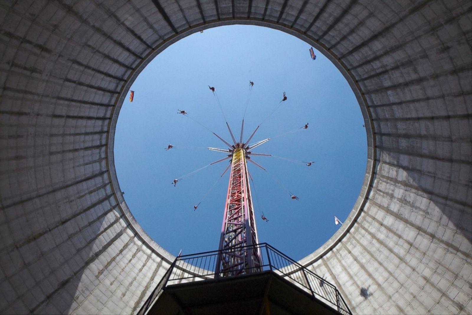 Как немецкая атомная электростанция превратилась в парк аттракционов