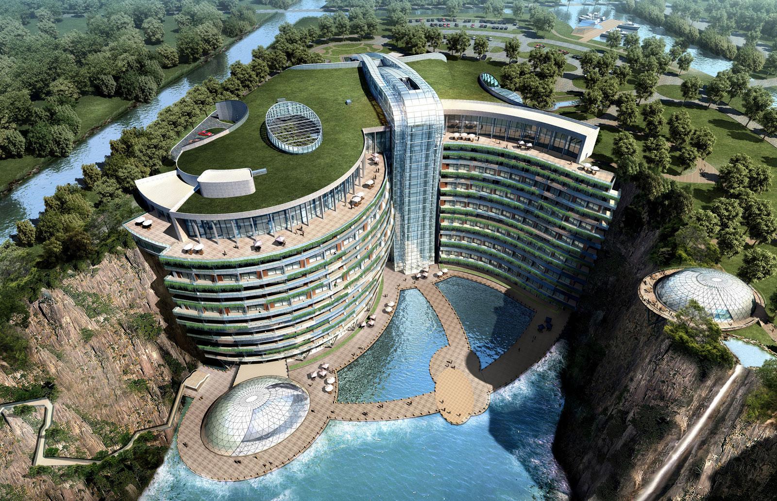 Топ-5 современных отелей, которые давно уже «живут» в 3019 году