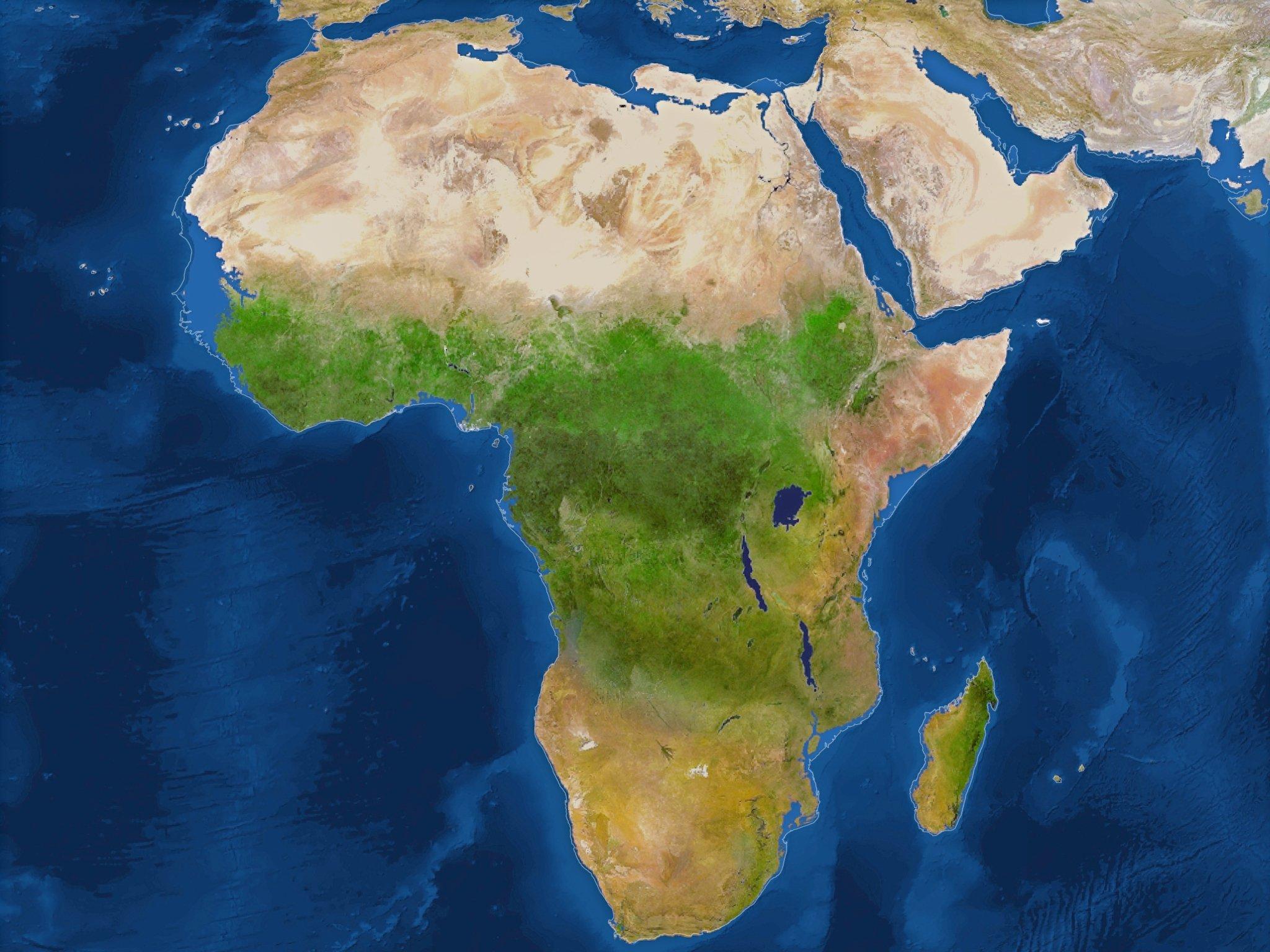Топ-7 самых невероятных фактов о континентах